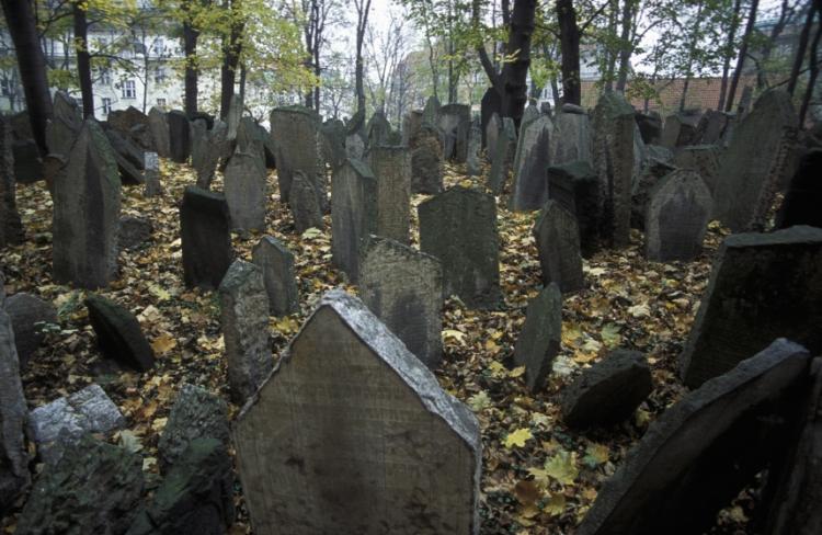 Cementerio- barrio Judío de Praga
